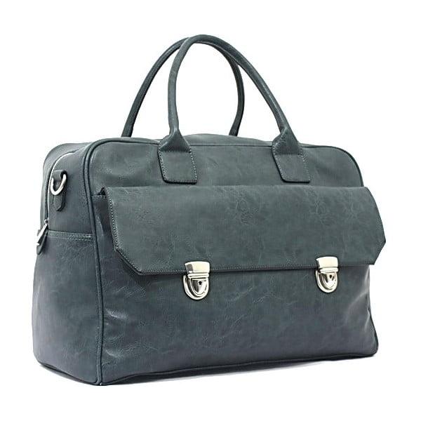 Cestovná taška Bobby Black - Blue, 45x33 cm