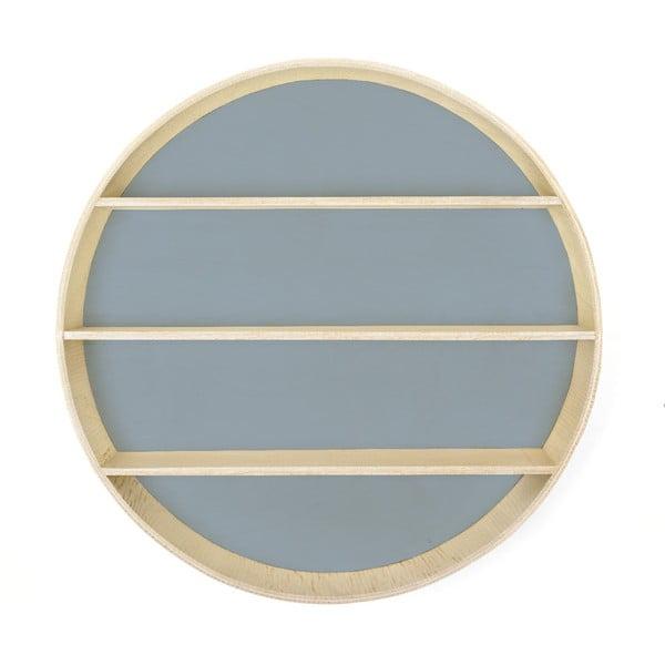 Polica Circular Azul