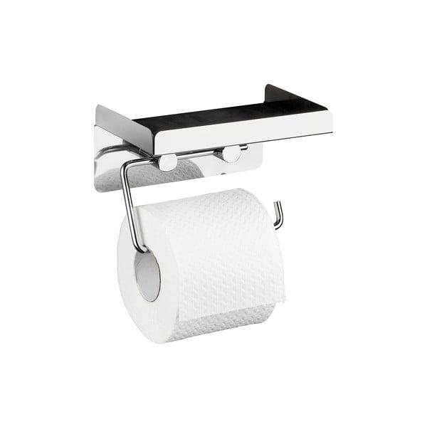 Samodržiaci držiak na toaletný papier 2v1 Wenko