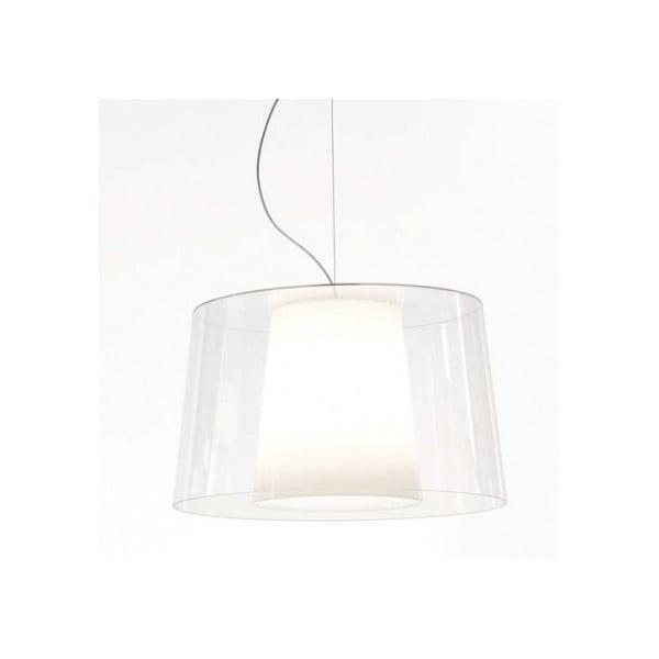 Transparentné závesné svietidlo Pedrali Claude