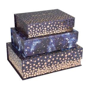 Sada 3 magnetických úložných boxov Tri-Coastal Design Celestial Dream