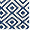 Vlnený koberec Luisa Dark Blue, 200x140 cm
