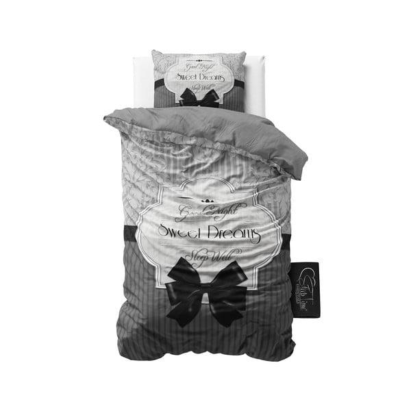 Obliečky Sweet Dreams 140x200 cm, sivé