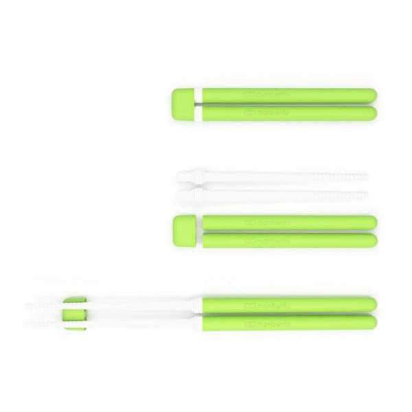 Zelené jedálenské paličky Monbento Pair