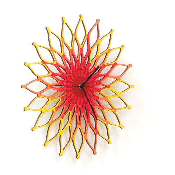 Drevené hodiny Fireworks , 41 cm