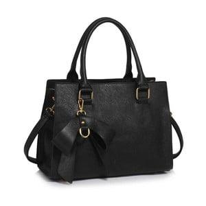 Čierna kabelka L&S Bags Bowcharm