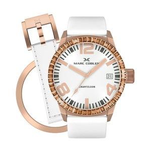 Dámske hodinky Marc Coblen s remienkom a krúžkom na ciferník naviac P96