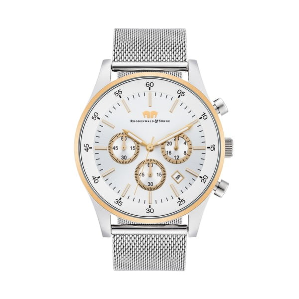 Pánske hodinky Rhodenwald&Söhne Playmaster Silver/Gold