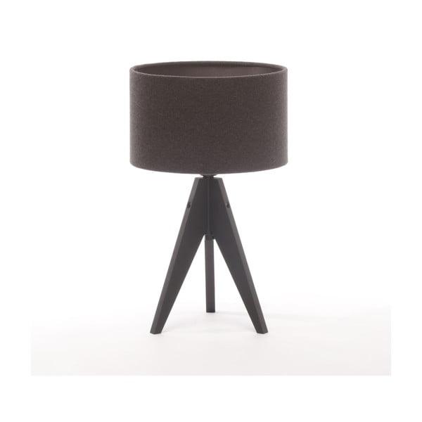 Stolná lampa Artista Black Birch/Dark Grey Felt, 28 cm