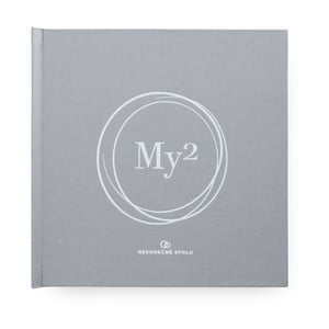 Kniha pre manželov s ručným razením so samolepkami Bloque. My2