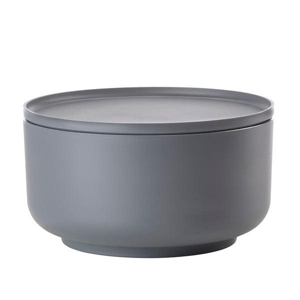 Tmavosivá servírovacia miska s vrchnákom Zone Peili, 4,5 l