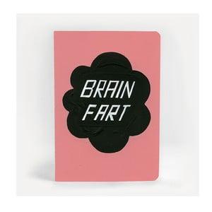 Poznámkový blok U Studio Design Brain Fart