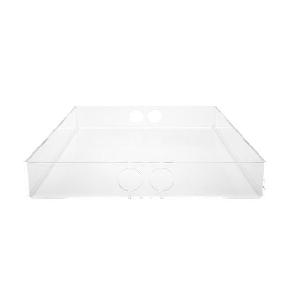 Podnos Tray Clear, 30x41 cm
