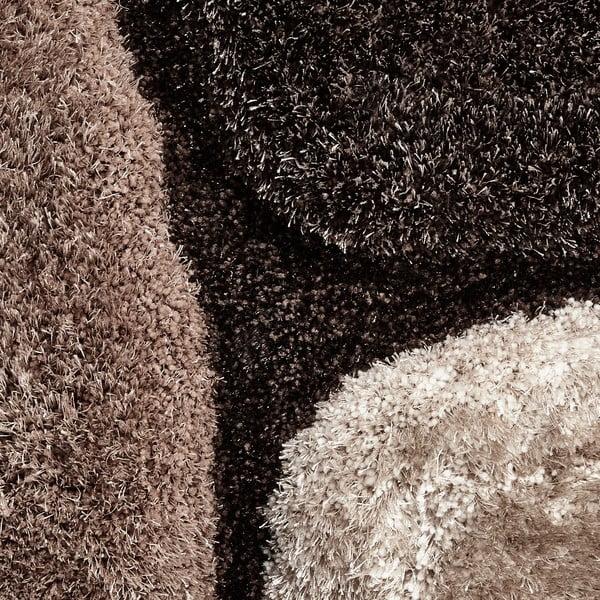 Béžovo-hnedý ručne viazaný koberec Think Rugs Noble House, 120×170cm