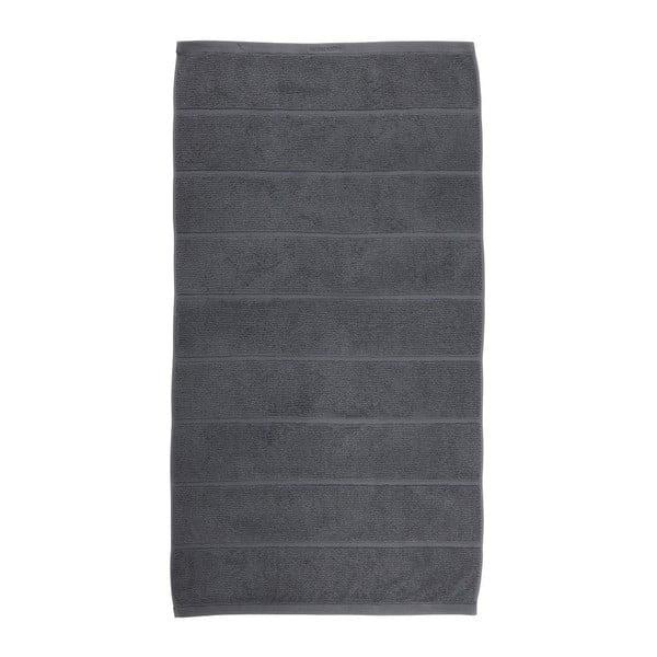 Tmavosivý uterák Aquanova Adagio, 70 x 130 cm
