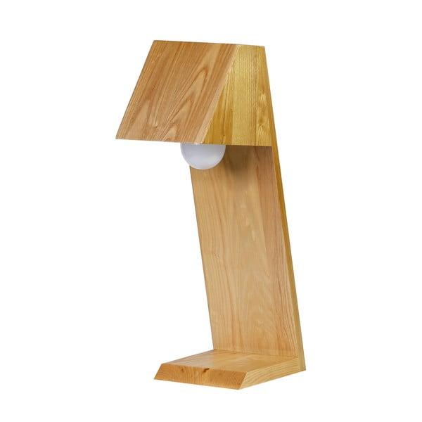 Stolová lampa CASA, drevená
