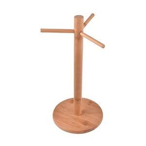 Bambusový stojan na hrnčeky Bambum Mosk, výška 33 cm
