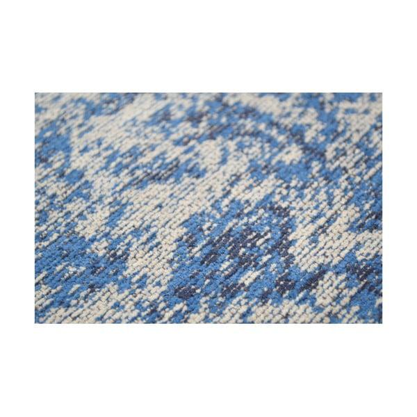 Vlnený koberec Canada, 160x230 cm, modrý