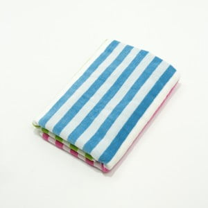 Pruhovaná plážová bavlnená osuška My Home Plus Holiday, 75×150 cm