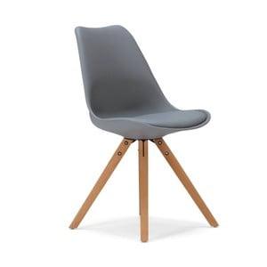 Sivá jedálenská stolička SOB Seattle