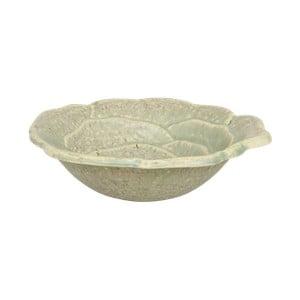 Svetlozelená miska z keramiky Strömshaga, Ø19 cm