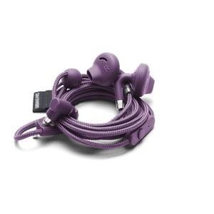 Fialové slúchadlá do uší s mikrofónom Urbanears SUMPAN Cosmos Purple