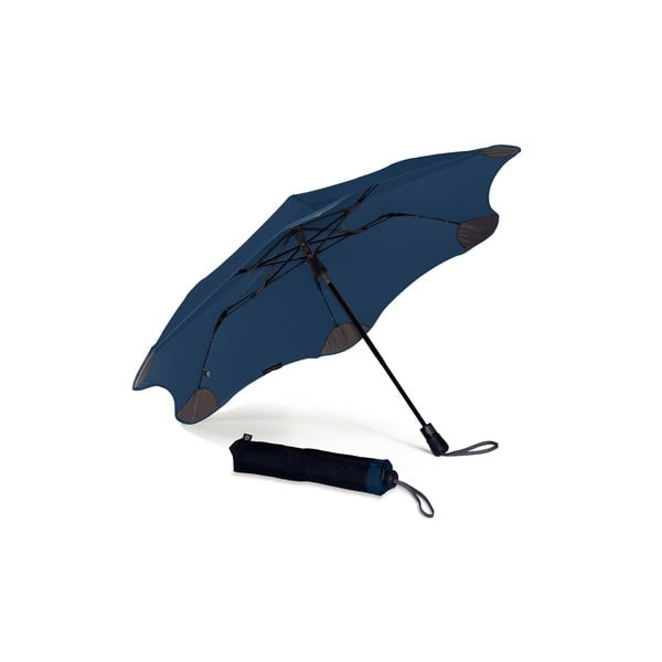 Vysoko odolný dáždnik Blunt XS_Metro 95 cm, tmavomodrý