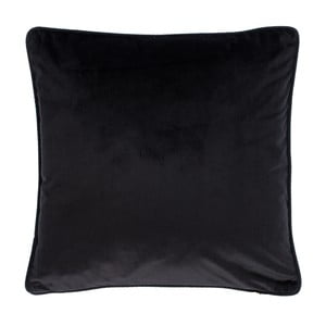 Čierny vankúš Tiseco Home Studio Velvety, 45 x 45 cm