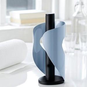 Držiak na servítky Steel Function Pisa, modrý/čierny