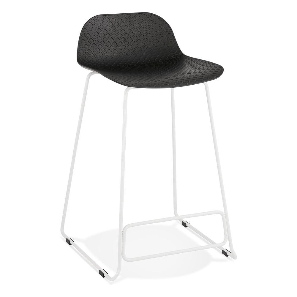 Čierna barová stolička Kokoon Slade Mini, výška sedu 66 cm