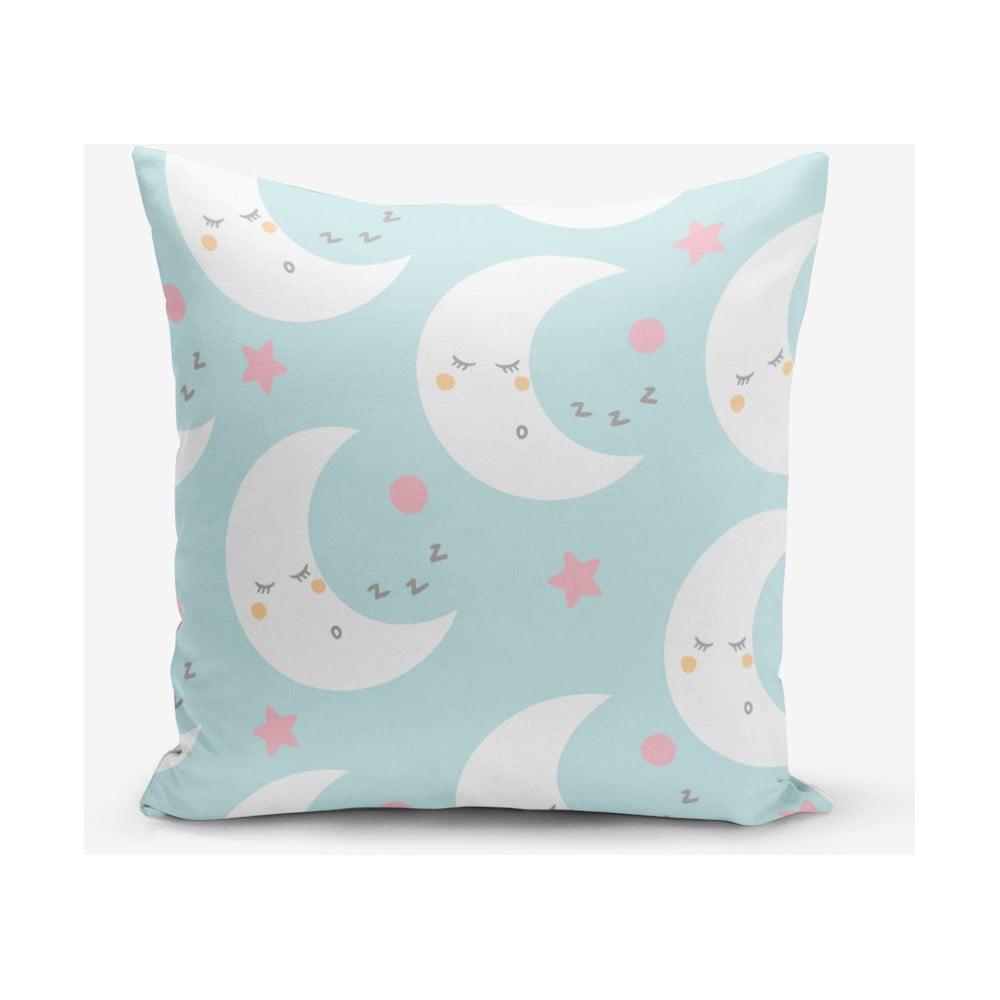 Obliečka na vankúš s prímesou bavlny Minimalist Cushion Covers Moon, 45 × 45 cm