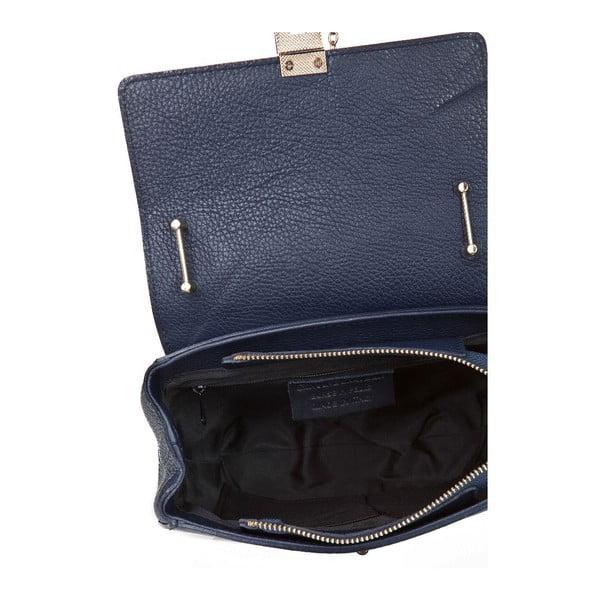 Kožená kabelka Locker Blue