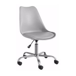 Sivá nastaviteľná kancelárska stolička Støraa Dan