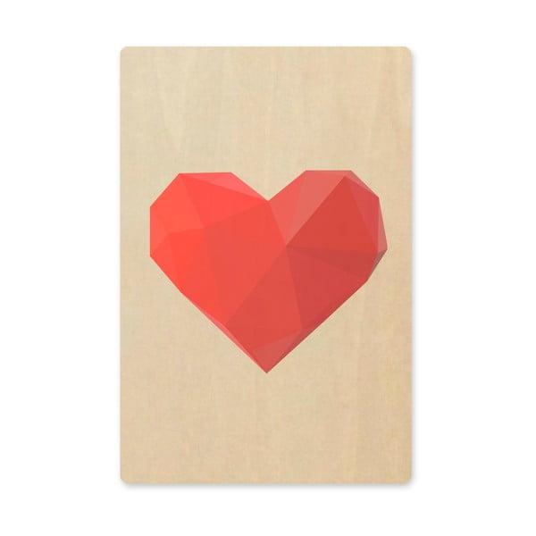 Obraz Novoform Artboard Heart, A6