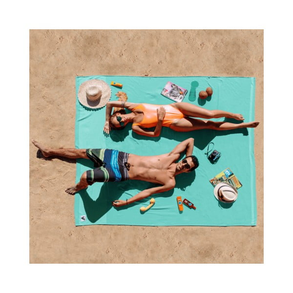 Plážová deka Flat Seat XL Water, 200x200 cm