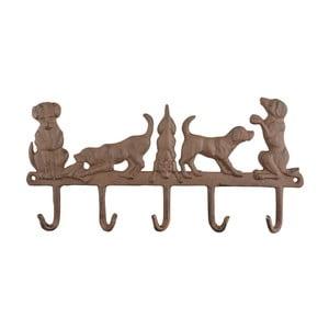 Nástenný liatinový vešiak Esschert Design Svet psov