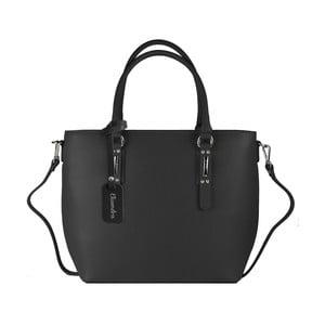 Čierna kožená kabelka Maison Bag Dalia