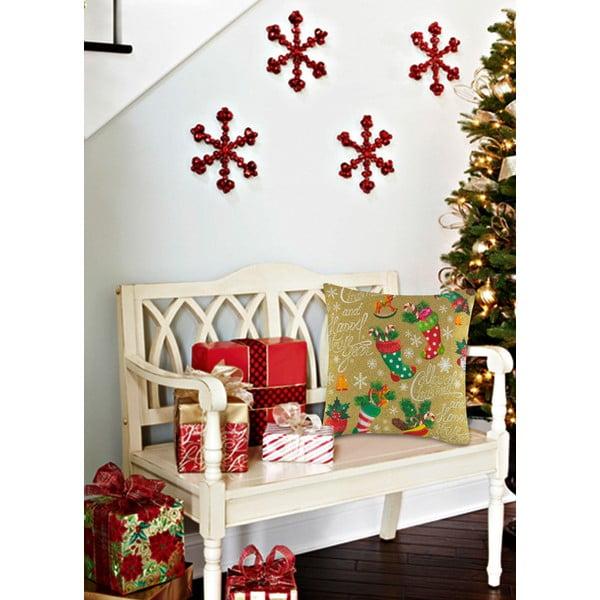 Vankúš s výplňou Christmas V19, 45 x 45 cm