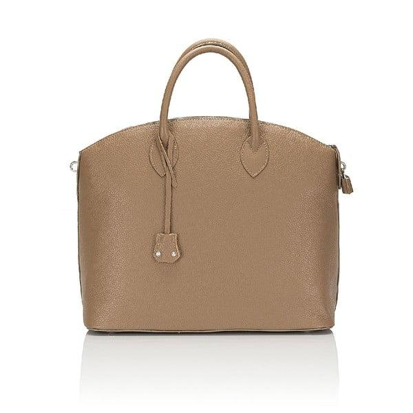 Kožená kabelka Giorgio Costa 15024 Taupe