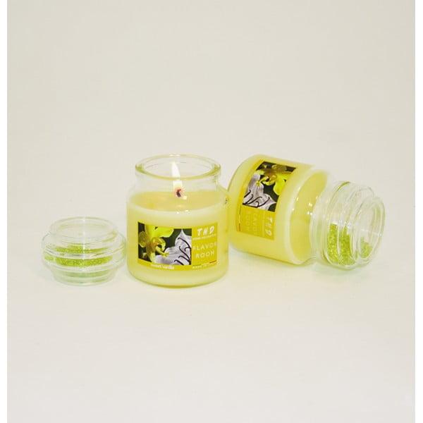 Vonná sviečka THD Fragnances, sladká vanilka