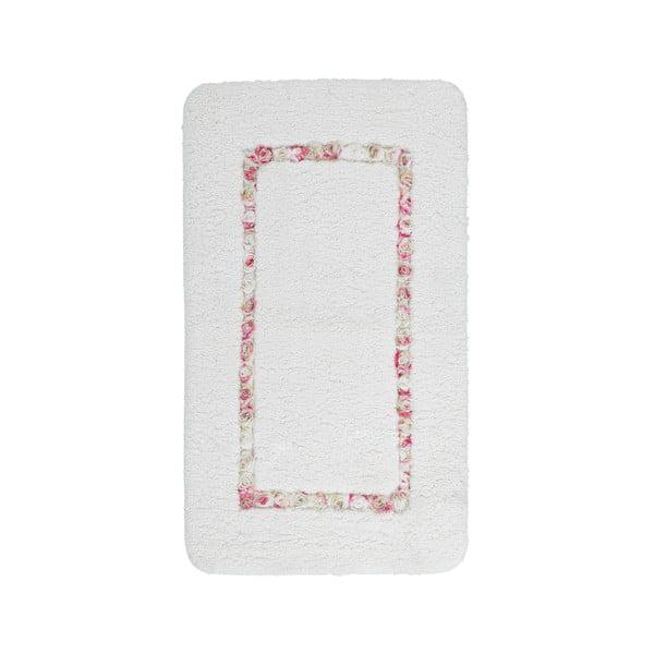 Kúpeľňová predložka Frenésie Cream, 65x110 cm