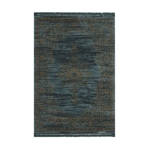 Koberec Gannon, 121x182 cm, modrý