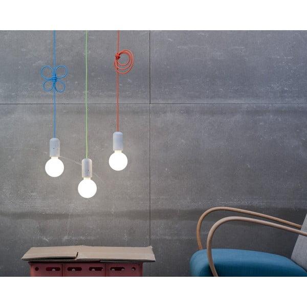Svietidlo od Jakuba Velínského - modrý pixel, 1,2 m