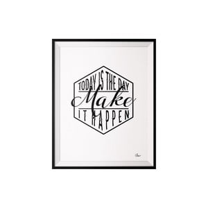 Plagát Make, 40x50 cm