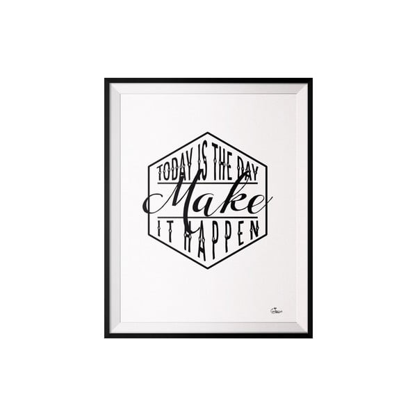 Plagát Make, 50x70 cm