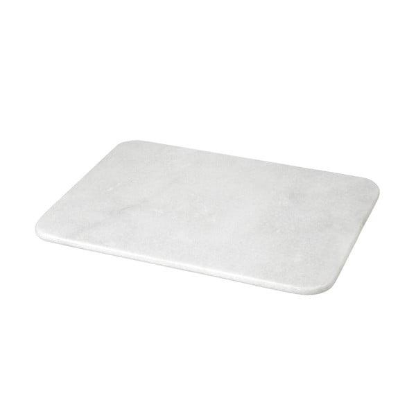 Doštička z bieleho mramoru, 1,2x30x40 cm