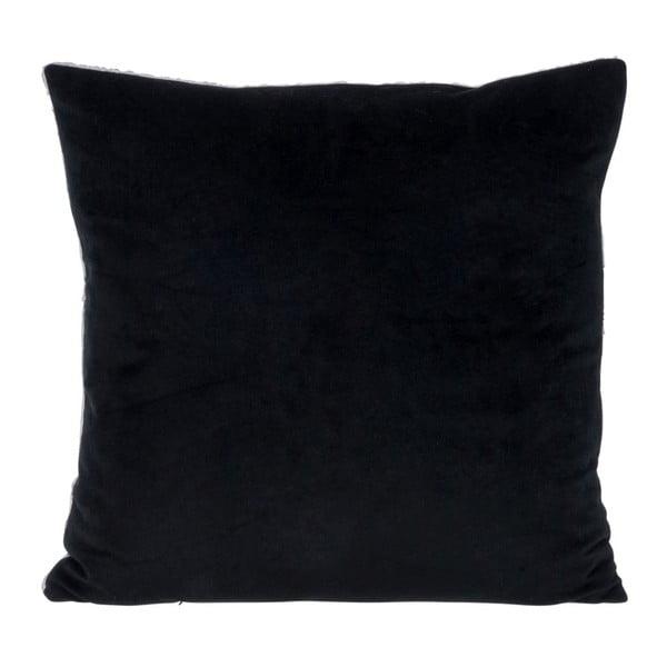 Vankúš Check Black, 45x45 cm