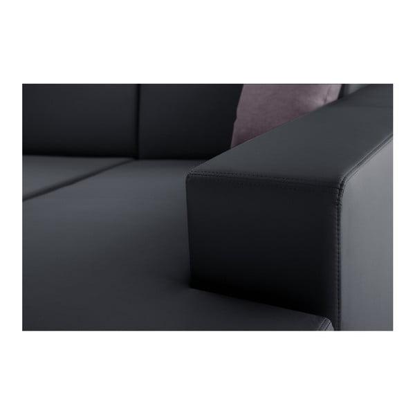 Antracitovosivá rozkladacia sedačka Interieur De Famille Paris Tresor, pravý roh