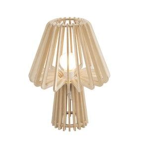 Skladacia drevená stolová lampa Leitmotiv Edged Mushroom
