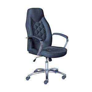 Čierna kancelárska stolička 13Casa Thor